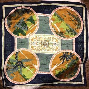 Triangle brand 100% silk made in China scarf
